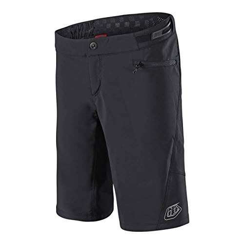 Troy Lee Designs Skyline Short with Liner - Women's Solid Black/Black, S by Troy Lee Designs (Image #2)