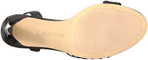 Ivanka Holie Sandal Heeled Leather Black Trump Women's rrWfn84