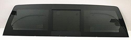 NAGD Compatible with Dodge Ram (1500 2500 3500 4500 5500) 4 Door Pickup Sliding Back Glass Rear Power Slider Window OE W/Motor Heated