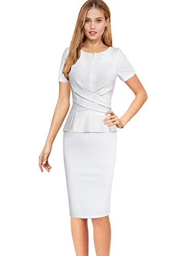 Zipper Sheath Dress - 4