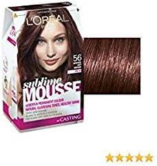 L Oreal Sublime Color Mousse nº 56 caliente marrón: Amazon ...