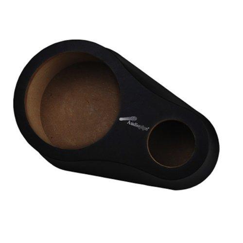 Pipeman 8'' ISPOD-WD8T-BLK Wood Speaker Pod with Tweeter opening *Pair*