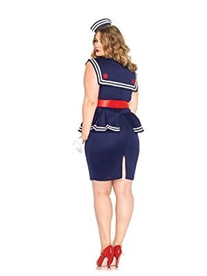 Leg Avenue Women's Plus-Size Aye Aye Amy