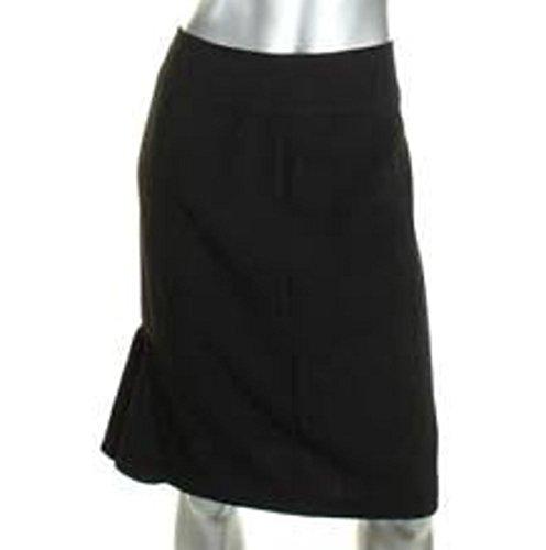 LiveLaughLove Shop Sunny Leigh Two Slit Black Pencil Skirt - Skirts Leigh Sunny