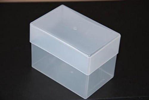 50 x Cajas de almacenaje Caja de plástico transparente 97 mm x 62 ...