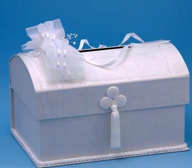 Simply Elegant Wedding Money Box / Card Box White by RaeBella Weddings & Events New York