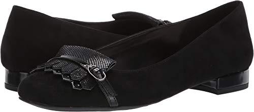 Anne Klein Women's ULANEE Loafer Flat, Black