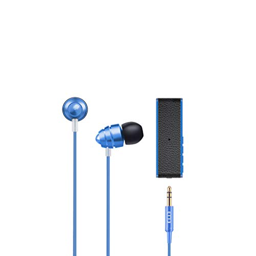 Bluetooth Sports Earphone, salaheiyodd 3.5mm Earbuds Ear Buds in Ear Headphones Wired Earphones with Microphone Mic Stereo Bluetooth 4.2 Transmission TF Connectivity Wired Earphone for iPhone