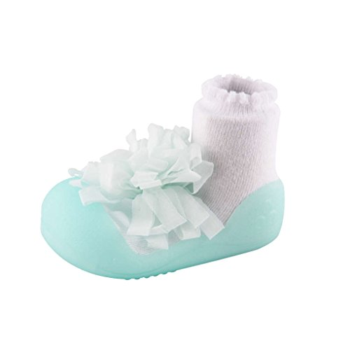 Large, Corsage Green Attipas Baby First Walker Shoes