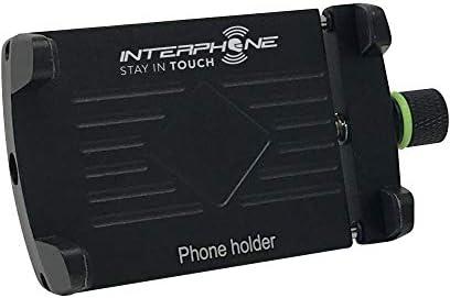 , 61 mm Soporte s Tel/éfono m/óvil//Smartphone, Motocicleta, Negro, Soporte pasivo, 1 Pieza Cellularline Moto Crab EVO Motocicleta Negro