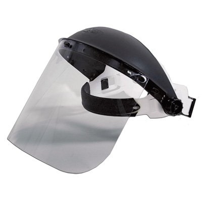 - Hobart 770118 Face Shield Clear with Ratchet Head Gear