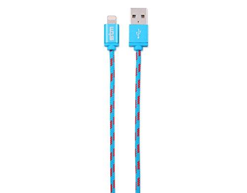 STM Elite Cable, Braided Lightning Cable (1m) - Blue (stm-931-098Z-20)
