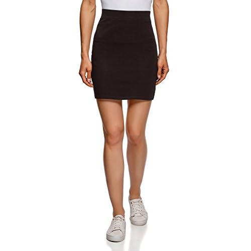 55e8dcd570 50%OFF oodji Ultra Mujer Falda de Punto (Pack de 2 Unidades ...