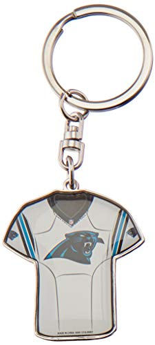 Carolina Panthers Double Sided Jersey Keychain ()