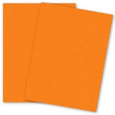 Popular Orange Fizz 8-1/2-x-14 Paper Lightweight Multi-use 250-pk - PaperPapers 104 GSM (28/70lb Text) LEGAL size Econo Everyday Paper - Professionals, Designers, Crafters and DIY Projects