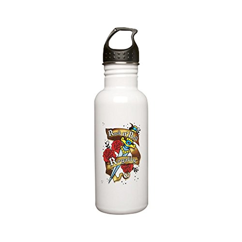 Stainless Water Bottle 0.6L Rock N Roll Royalty