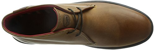Base London Marauder Herren Schnürhalbschuhe Braun - Marron (Pull Up Tan)