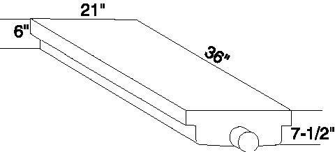 Custom Roto-Molding H42 RV Holding Tank by Custom Roto-Molding