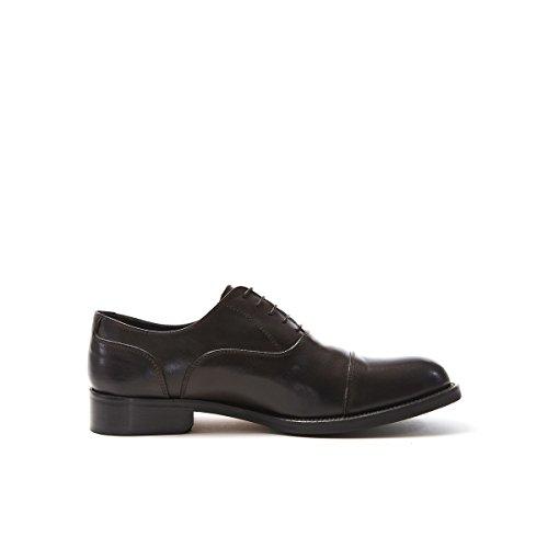 British Passport Oxford - Zapatos de Cordones de Piel Para Hombre Marrón