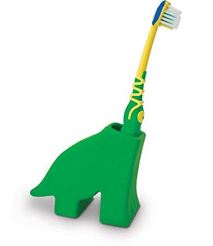 original design Toothbrush Holder, Diego The Dinosaur, Green