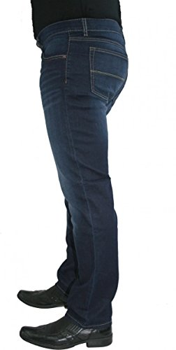 Paddocks Super Stretch Jeans Carter Saddle Stitch auch extra lang dark blue