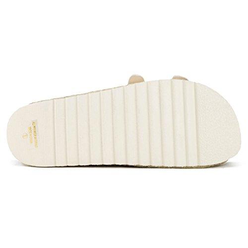 0a506481846 RF ROOM OF FASHION Women s Open Toe Espadrille Lug Sole Summer Slip ...