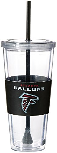 NFL Atlanta Falcons Straw Tumbler, 22-ounce