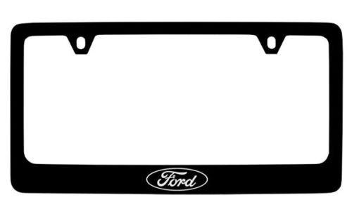 - Ford Built Tough Black License Plate Frame Holder