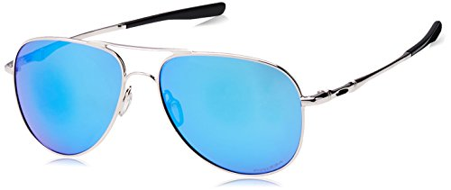 Oakley - Elmont (Large) - Polished Chrome Frame-Prizm Sapphire Lenses