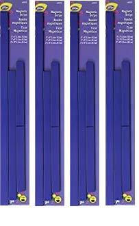 LoRan Magnetic Strips (4-(Pack))