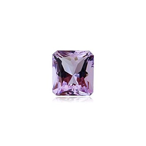 Mysticdrop 0.82-0.95 Cts of 7x5 mm AAA Emerald Cut Radiant Rose De France Amethyst (1 pc) Loose Gemstone