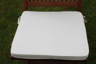 uk gardens cream beige garden furniture chair cushion seat pad for