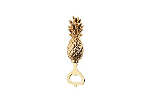 DEI, Gold Pineapple Bottle Opener