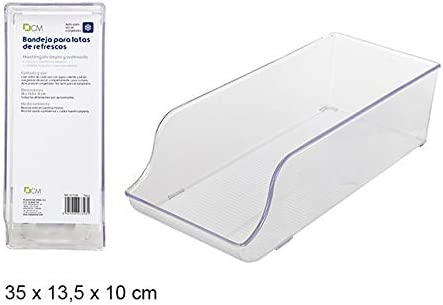 Caja organización frigorífico (Medidas: 35x13,5x10cm): Amazon.es ...