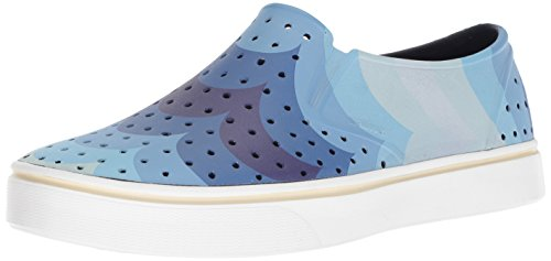 native Women's Miles Water Shoe Regatta Blue/Shell White/Big Scallop