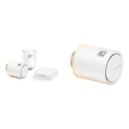 Netatmo NVP-ES, Paquete de Inicio Para Calefacción Colectiva + 3 Netatmo NAV-