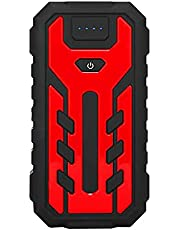 LUGUIIC Arranque portátil para carro 350A 28000 mAh, pacote de impulsionador de bateria de carro, carregador portátil (até 6,0 L, motor diesel de 5,0 litros)
