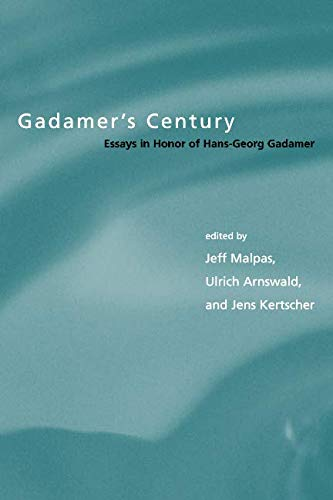 Download Gadamer's Century: Essays in Honor of Hans-Georg Gadamer (Studies in Contemporary German Social Thought) pdf