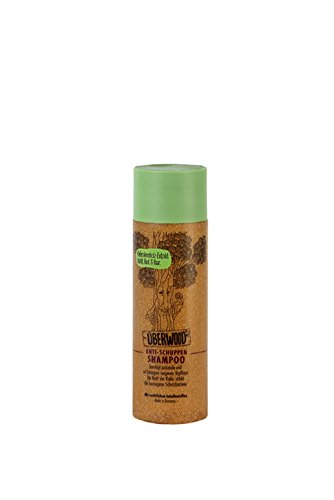 ÜBERWOOD® Anti - Schuppen Shampoo, 1er Pack (1 x 200 ml)
