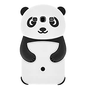JAJAY-ships in 48 hours Panda Pattern Silicone Soft Case for Samsung Galaxy S3 I9300 (Assorted Colors) , Orange
