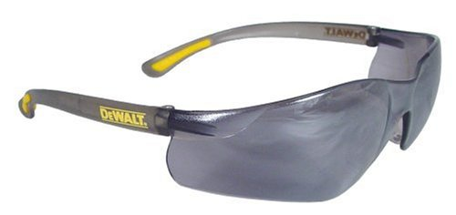 Dewalt DPG52-6C Contractor Pro Silver Mirror High Performance Lightweight Protective Safety Glasses