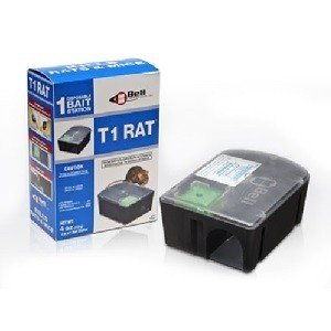 T1 Disposable Rat Bait Stations 1 Case (8 Stations) by Bell Labs