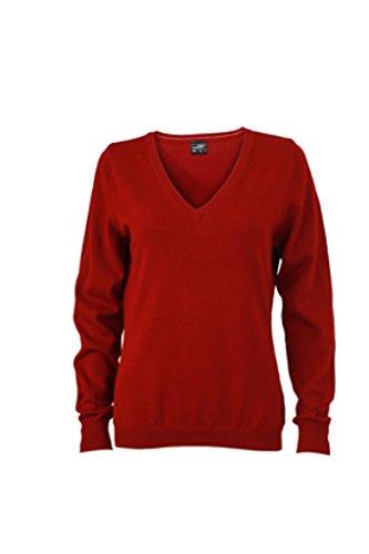 James & Nicholson clásico de algodón Sudadera rojo burdeos
