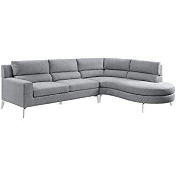 Amazon.com: Blackjack Furniture Arturo Modern Fabric ...