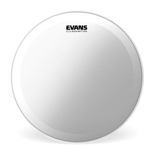 Evans EQ3 Clear Bass Drum Head, 24 Inch