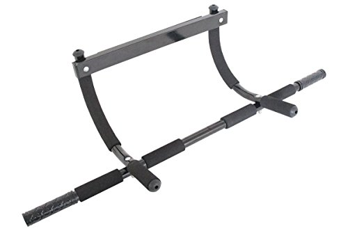 ProSource Multi Grip Lite Chin Up/Pull Up Bar, Black