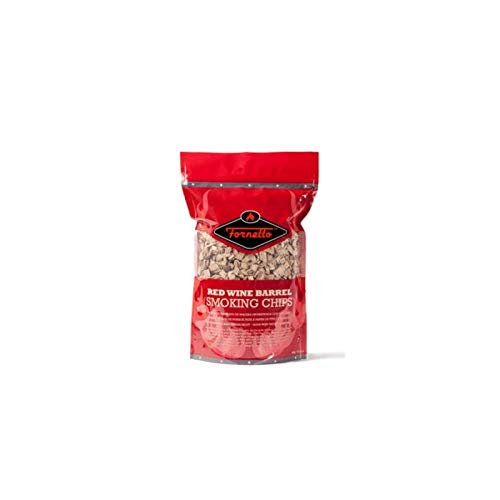 (Alfresco Home Fornetto Smoking Wood Chips, Red Wine, 14.oz Bag)