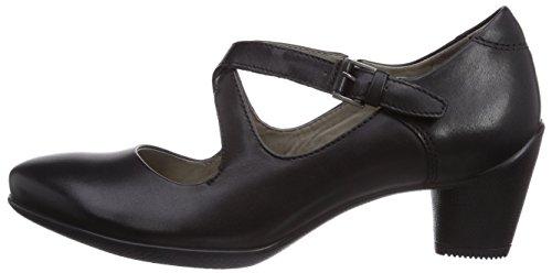 Black Col Scarpe Con T Nero Donna Ecco Tacco black A Sculptured 45 Cinturino Dress01001 schwarz Dress AqgwEXS