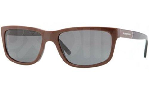 Burberry Mens Sunglasses (BE4155) Brown/Grey Acetate - Non-Polarized - - Sunglass Burberry Hut