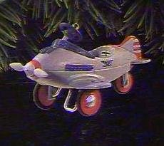 Hallmark Keepsake Ornament Kiddie Car Classics Murray Pursuit Airplane - 1996 (QX5364)